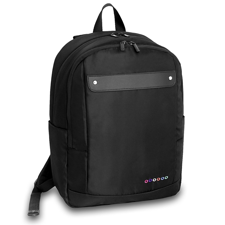 J World New York Beetle Laptop Backpack Black One Size [並行輸入品]   B077QL9SSK