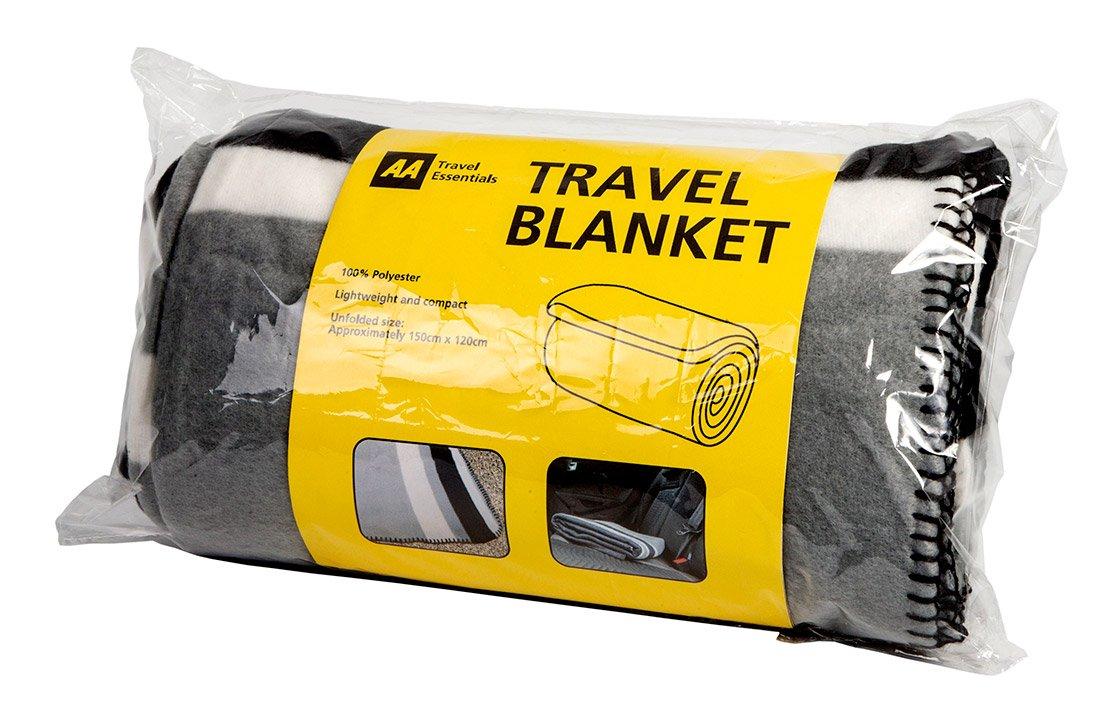 AA Travel Fleece Blanket AA Car Essentials