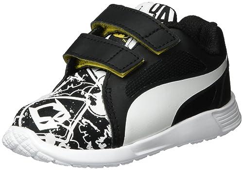 Basses St Inf V Puma Sneakers Street Batman Mixte Enfant Evo Trainer qwpxP8S5