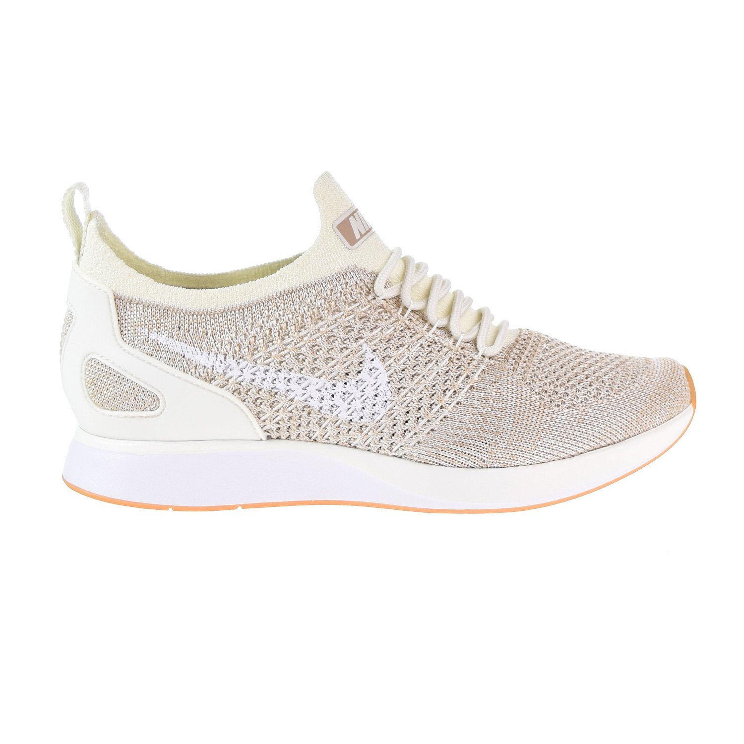 NIKE Womens Air Zoom Mariah Flyknit Racer Running Trainers Aa0521 Sneakers Shoes B079Z5TWH2 5.5 B(M) US|Sail/White/Gum