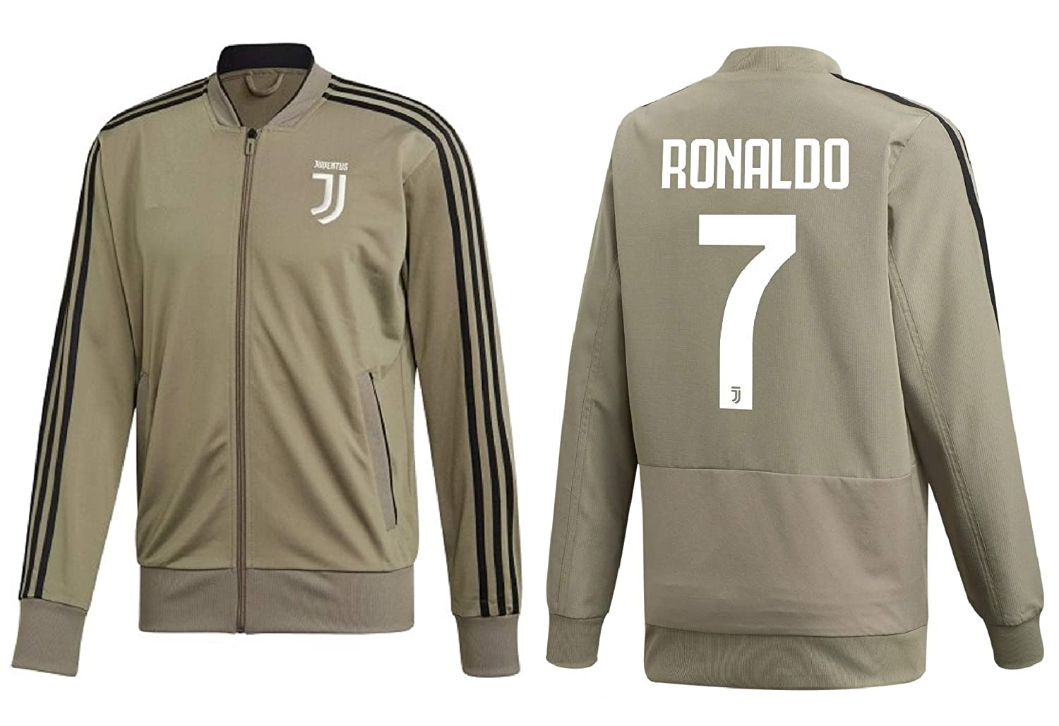 df46d186a Amazon.com   Kitbag Cristiano Ronaldo Juventus  7 Kids Soccer Tracksuit  Track Jacket with Pants Youth Sizes   Sports   Outdoors