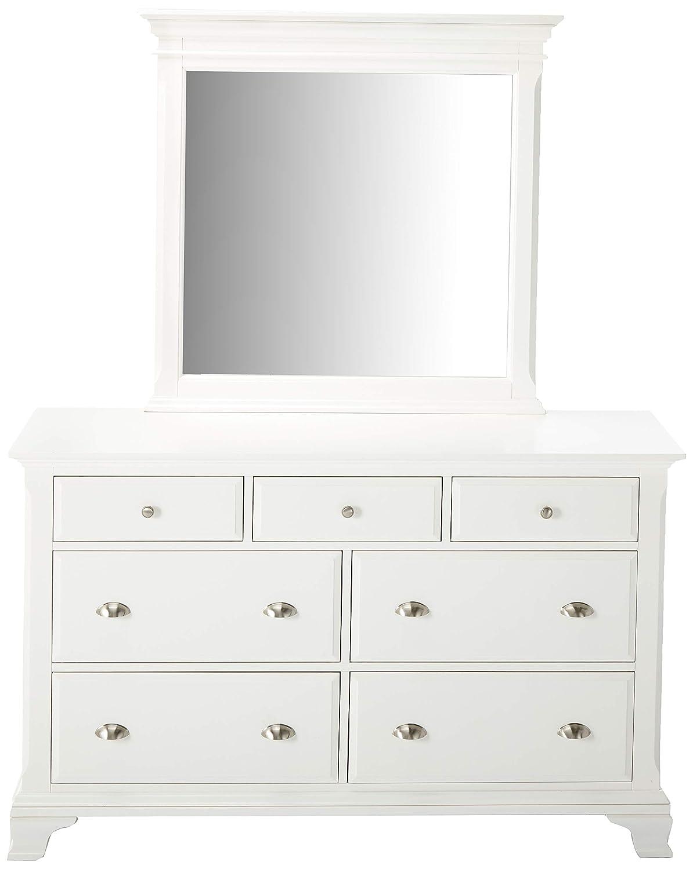 Amazon.com: roundhill Laveno 012 Color Blanco Madera ...