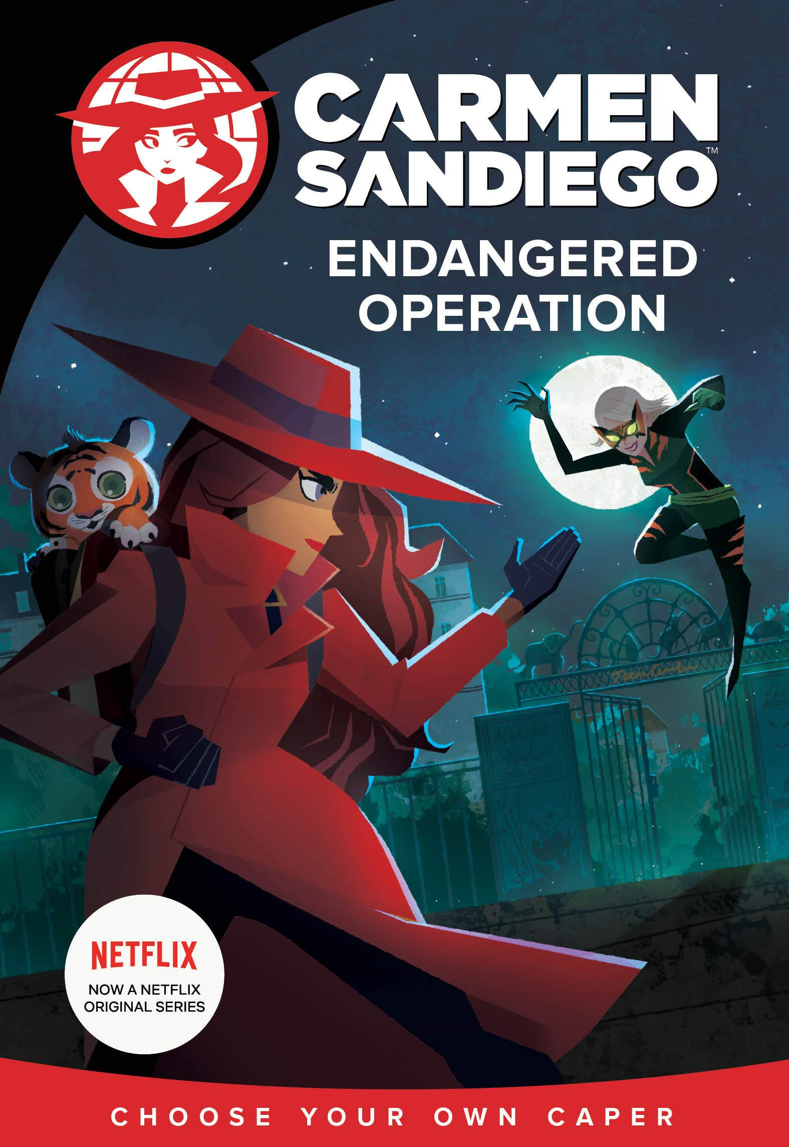 Endangered Operation (Carmen Sandiego Choose-Your-Own Capers