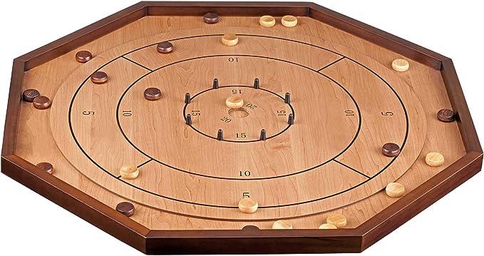 Philos 3311 Carrom Crokinole, marrón: Amazon.es: Juguetes y juegos