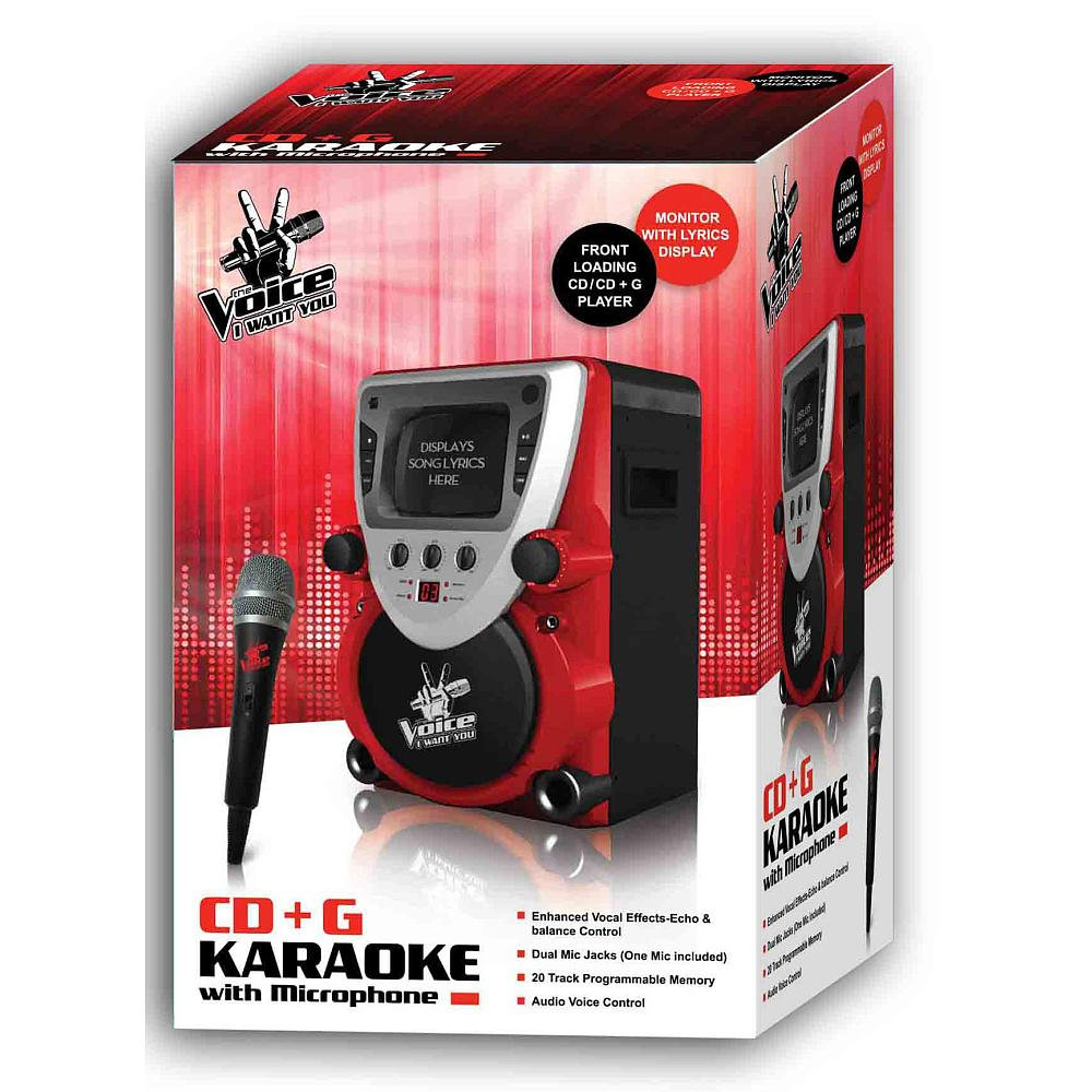 The Voice I Want You CD + G Karaoke with Microphone by MUSEUM TOUR INC