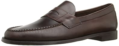 Sebago Men's Heritage Penny Loafer, Brown Oiled Waxy Leather, ...