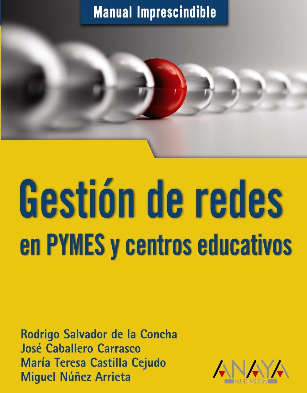 Gestion de redes en PYMES y centros educativos / PYMES Network management and schools (Manuales Imprescindibles) (Spanish Edition) pdf