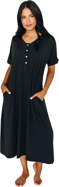 Multiple New Undercover Mama House Dress 24 7 Maternity Nursing Nightgown Nursing Maternity