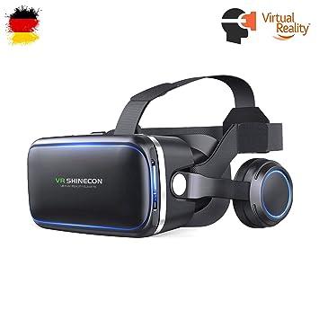 Unbekannt VR-3D Oreillette de réalité virtuelle Universelle Compatible avec  Tous Les Smartphones de Taille f48deab96d7a