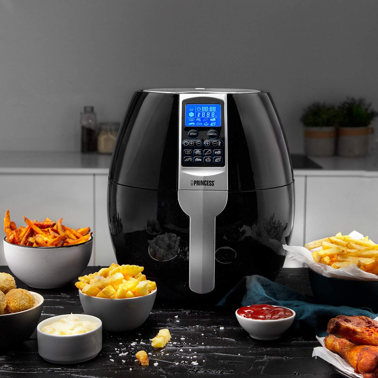 Hot air fryer with stainless steel basket review