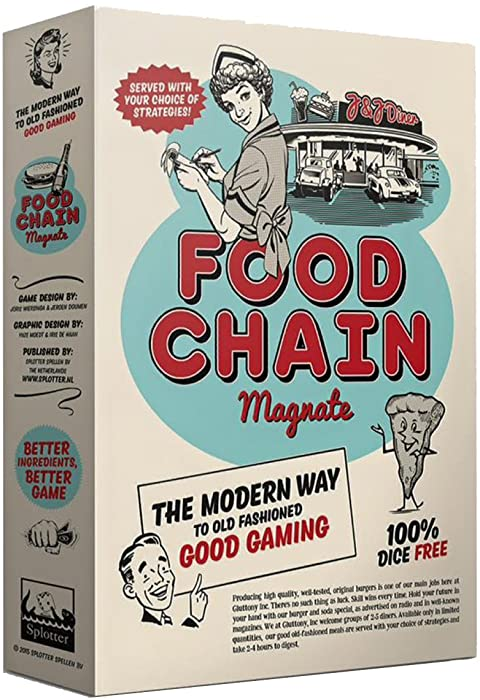 Top 9 Food Magnate Board Game