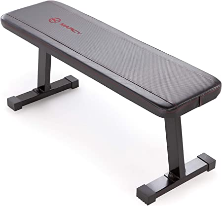 side facing marcy sb-315 flat utility weight bench