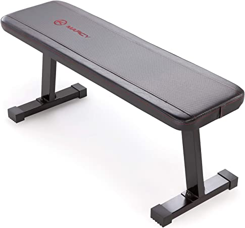 Marcy Flat Utility | 600 lbs Capacity Weight Bench