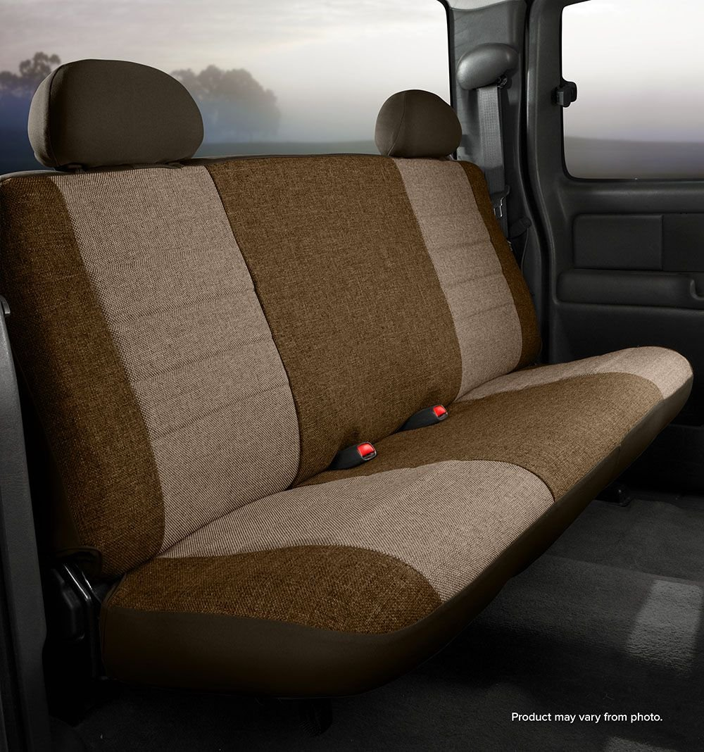 FIA OE34 CHARC Universal Fit Truck Bench Seat Cover Charcoal