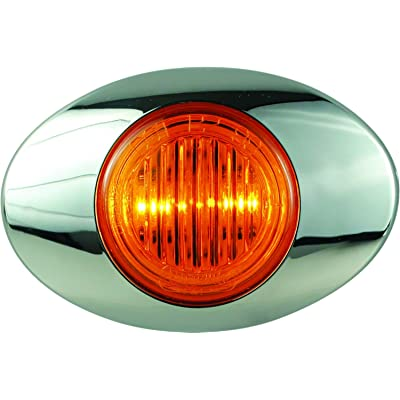 "Optronics 00212235P M3 Series Lens 3"" Marker/Clearance Light Kit, Millennium Series, Amber: Automotive"
