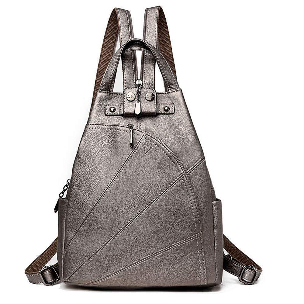 Bronze DYR Student Bag Ladies Shoulder Bag Casual Soft leatheravel Bag Shoulder Messenger Bag Outdoor Sports Bag Can Be Wholesale, bluee