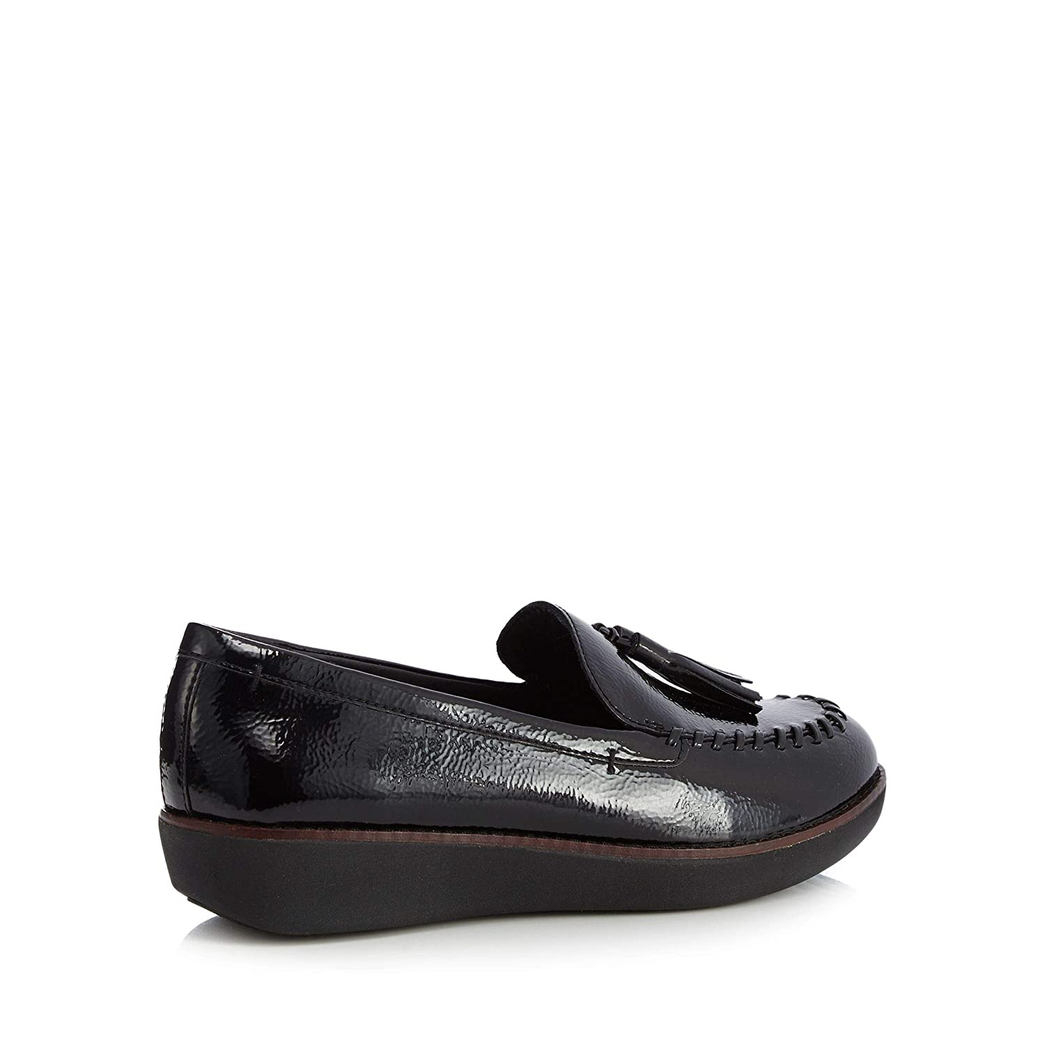 24534775a Fitflop Womens Black Patent  Paige  Loafers 5  Amazon.co.uk  Shoes   Bags