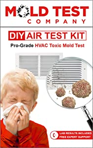Mold Test Company | DIY HVAC Mold Air Test Kit | Test 10+ Locations | Lab Analysis and Expert Guidance Included