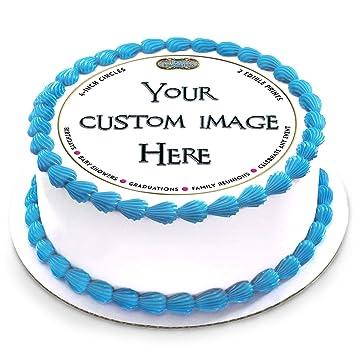 Hoja comestible de oblea personalizable para tartas con ...