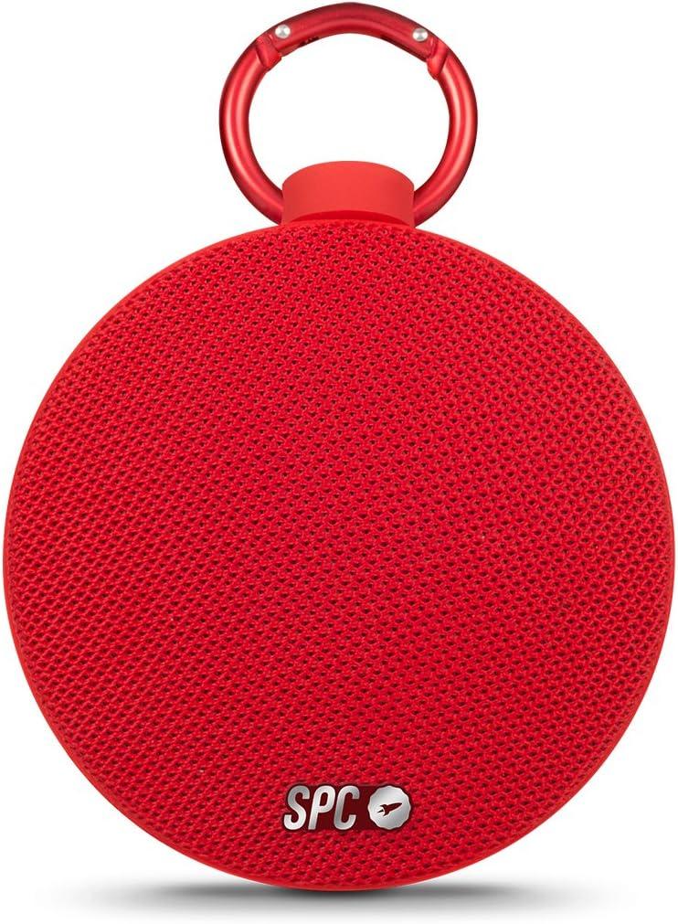 SPC UP - Speaker altavoz bluetooth portátil - Color Rojo