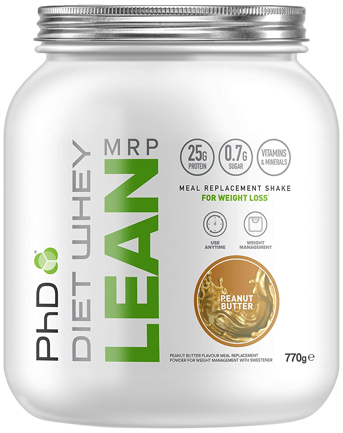 Phd Nutrition Diet Whey Lean Meal Replacement Powder Double Chocolate