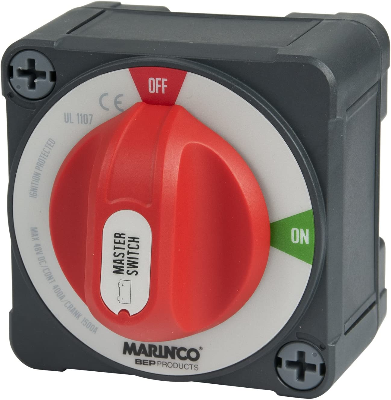 Marinco Power Products Pro Installer Double Pole Battery Switch