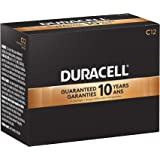 Duracell - CopperTop C Alkaline Batteries with recloseable package - long lasting, all-purpose C battery for household and business - Pack of 12