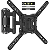 MOUNTUP TV Wall Mounts TV Bracket for Most 26-55 Inches TVs, Full Motion TV Wall Mount with Swivel and Extend 17.7 Inch…