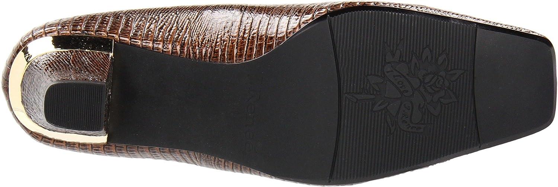 J.Renee Women's Mary Pump B001B4ZOT6 6.5 W US|Cognac