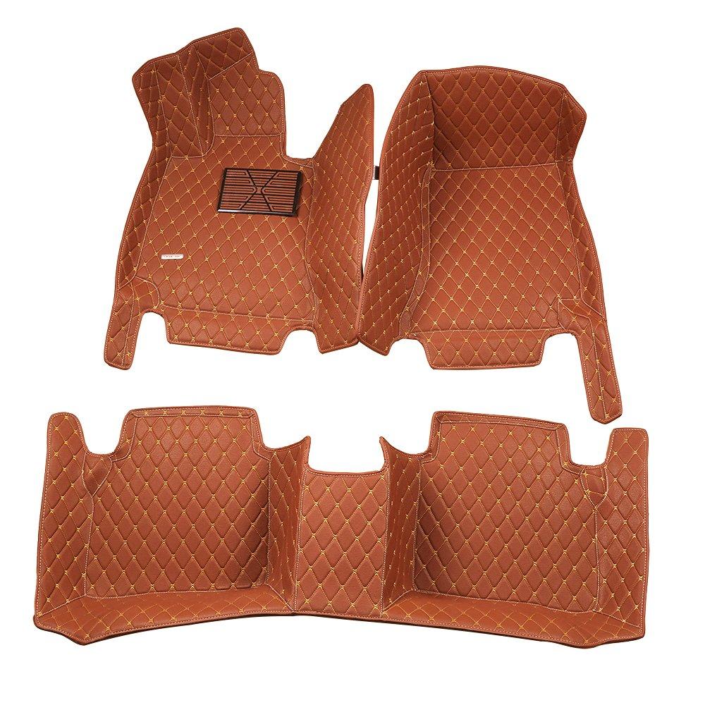 Lexus es 350 rubber floor mats - Worth Mats Custom Fit Luxury Xpe Leather Waterproof Floor Mat For Lexus Es 200 250 300 350 2013 2016 Brown