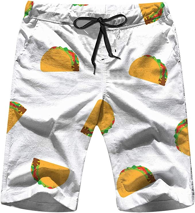 Corn Plants Mens Swim Trunks Quick Dry Bathing Suits Summer Casual Surfing Board Shorts