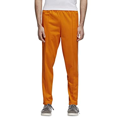 huge selection of 0ddc3 9d5bf adidas Originals Men s Franz Beckenbauer Trackpants, Bright Orange, ...