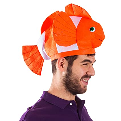 fish hat clown fish hat ocean animal hats sea animal hats costume