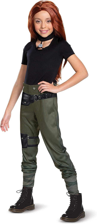 Kim Possible Classic Girls' Costume
