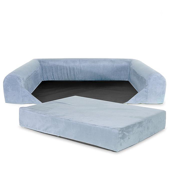 KOPEKS Funda de Repuesto para Sofa de Perros Funda Sofá Gris - XL: Amazon.es: Productos para mascotas