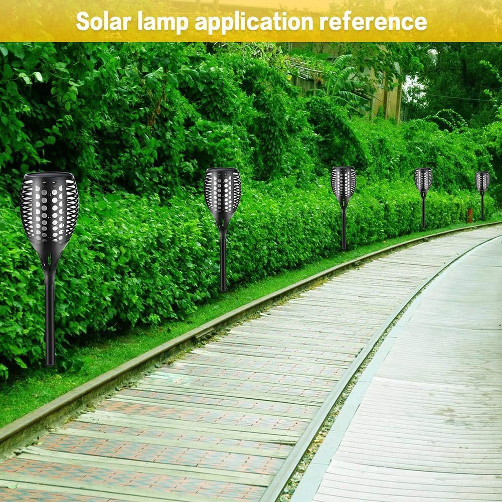 LianLe Solar Torch Lamp Flame Light, Solar Flame Atmosphere Lamp,Waterproof 96LED Landscape Lawn Lamp for Garden Fence by LianLe (Image #6)