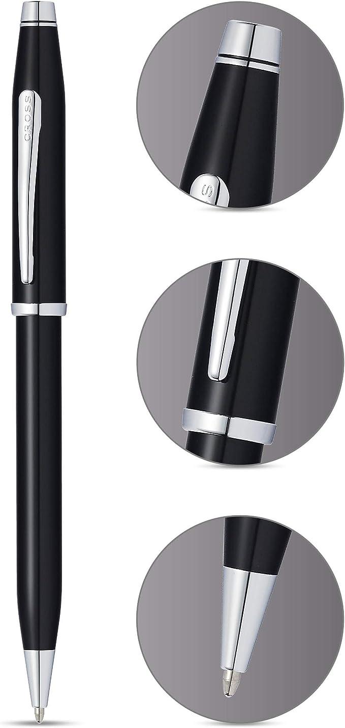 Cross AT0082WG-102 - Bolígrafo, color negro lacquer: Amazon.es ...