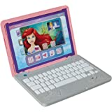 Disney Princess Girls Play Laptop Computer Style Collection Click & Go Play Laptop for Girls with Sounds & Light Up On Button
