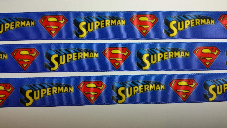 Equipo de Superman 2,54 cm/25 mm de ancho de cinta de ...
