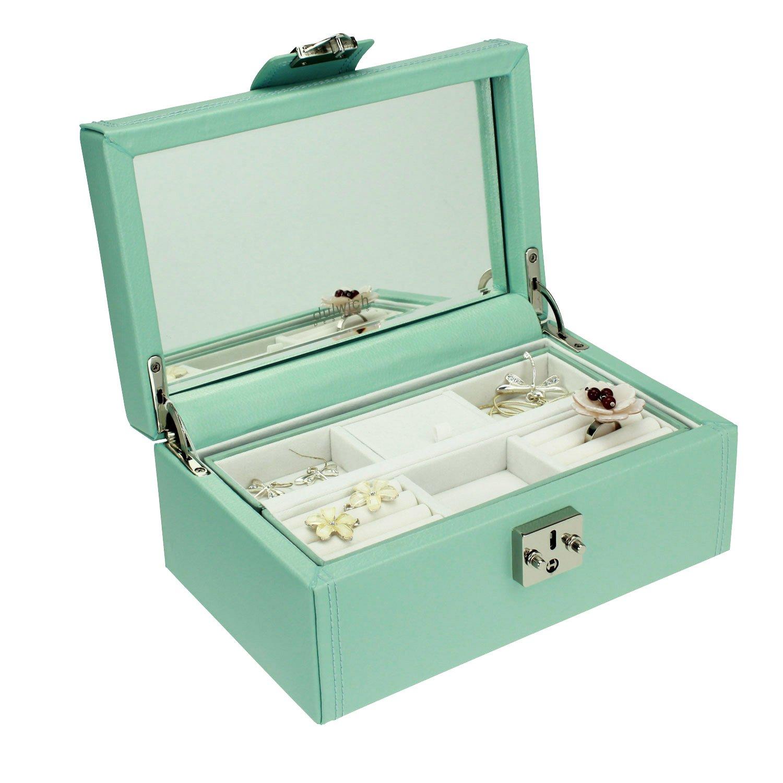 DULWICH DESIGNS Pretty Medium Black Jewellery Box Carters of London .