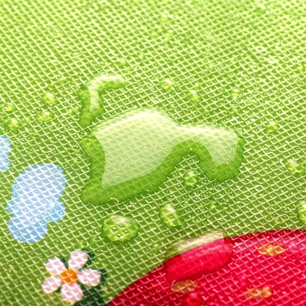 M StillCool Krabbelmatte Baby Kinderteppich Baby Kinder Kinderspielteppich Crawl Junge kinderzimmer Spielmatte kinderzimmerteppich Picknick-Decke 180*120cm