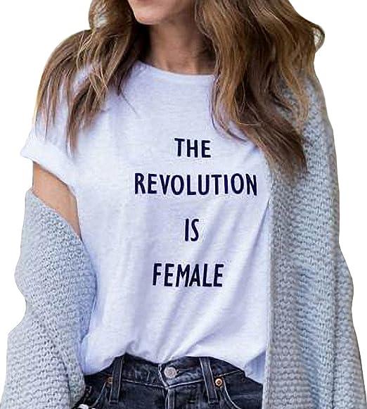 a5ea6e040b5b BLACKMYTH Women s Graphic Funny T Shirt Cute Tops Teen Girl Tees at ...