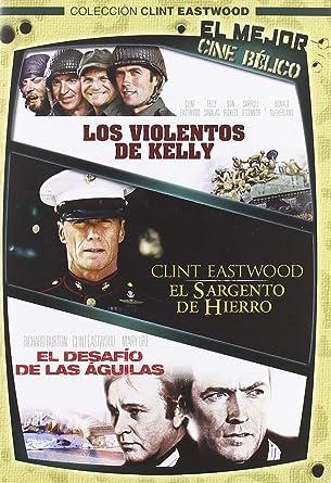 Pack Los violentos de Kelly + El sargento de hierro DVD: Amazon.es ...