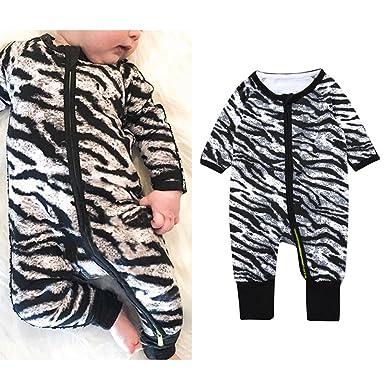 edf33977de59 Amazon.com  Yiding Baby Unisex Cotton Zip Up Sleep N Play