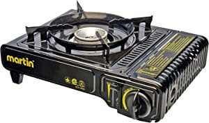 Martin Outdoor Heavy Duty Portable Butane Stove Burner CSA 8000 BTU