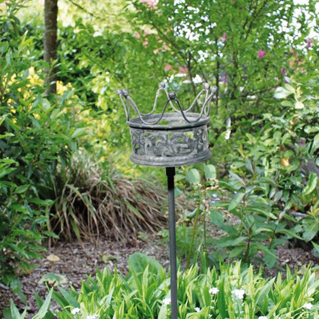 großer ausgefallener dekorativer Garten-Stecker Deko-Stecker Landhaus-Gartendeko