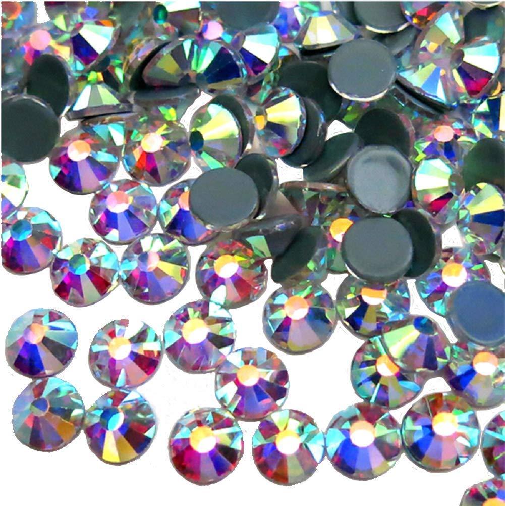 Jollin Hotfix Crystal AB Flatback Rhinestones 4.0mm SS16 1440pcs