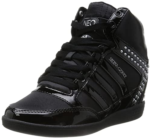 order sells arriving Amazon.com | adidas NEO Selena Gomez BBNeo Wedge Shoes ...