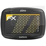 3 x atFoliX Screen Protector Garmin Zumo 390LM Screen Protection Film - FX-Antireflex anti-reflective