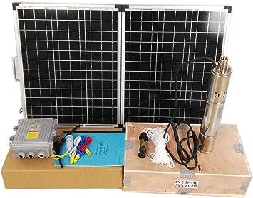 Sunjolly Solar Water Pump 3 Inch 540w 48v For Farm Irrigation Amazon Com